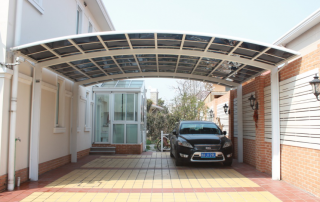 regular roof carport