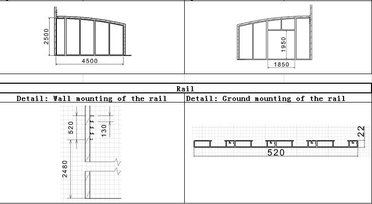 Slope Roofing Screen chart