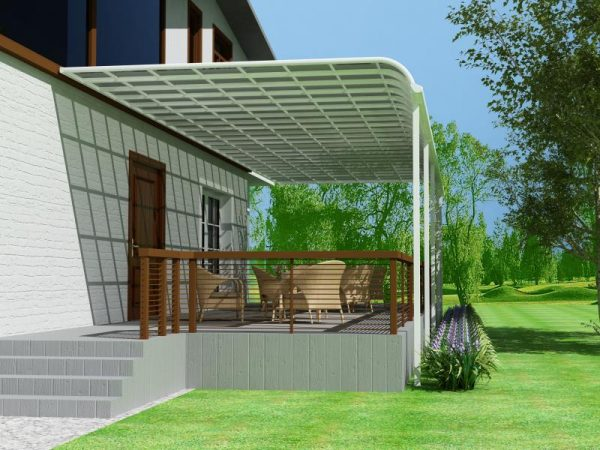Terrace Roof cover