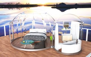 Traditional PVC Bubble Hotel