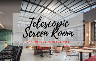 Telescopic Screen Room